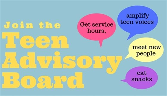 Join the Teen Advisory Board