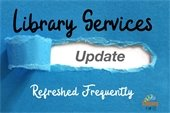 Library services updates happen frequently.