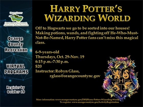 Harry Potter's Wizarding World - ages 6-9-years-old