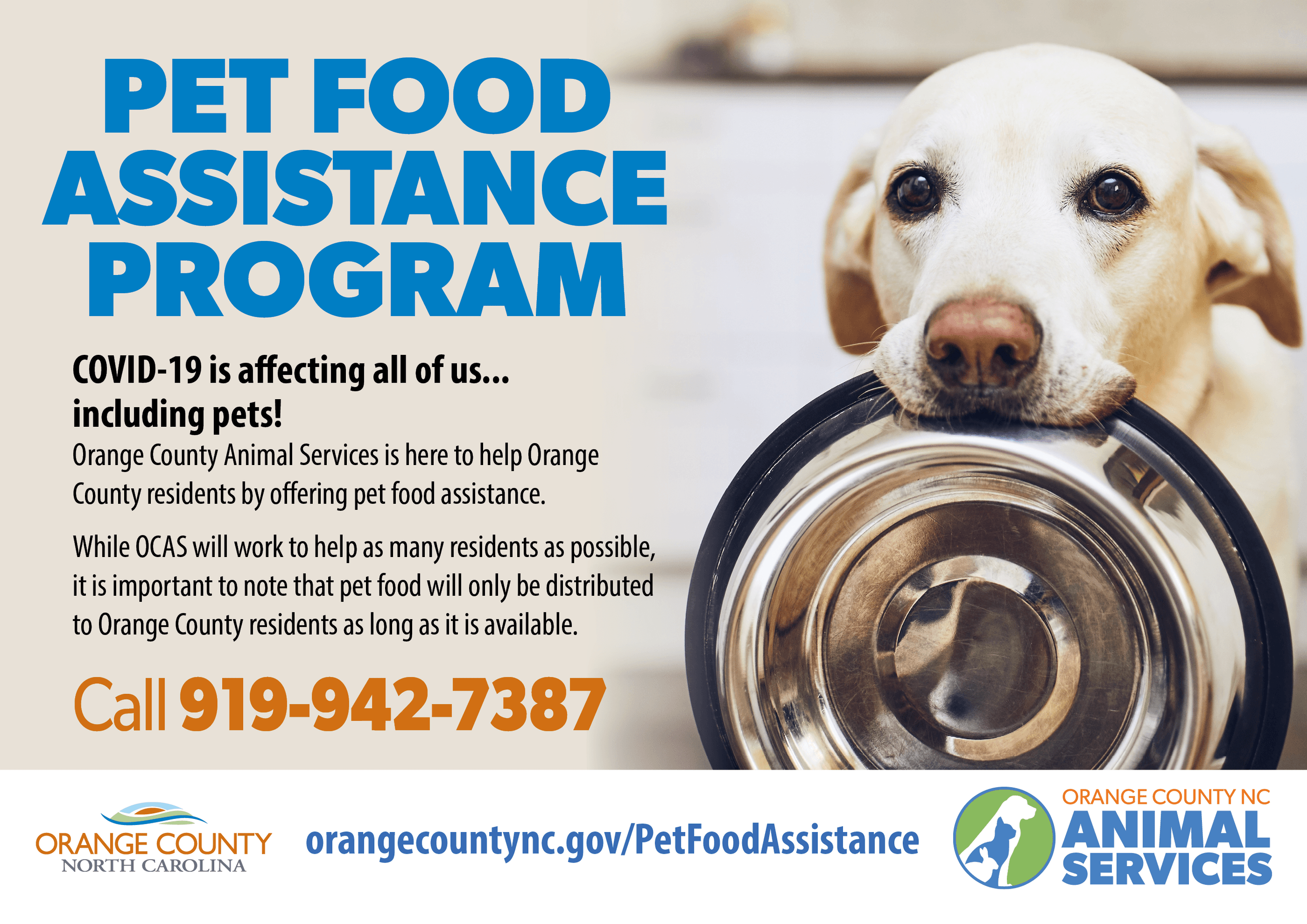 Pet Food Assistance