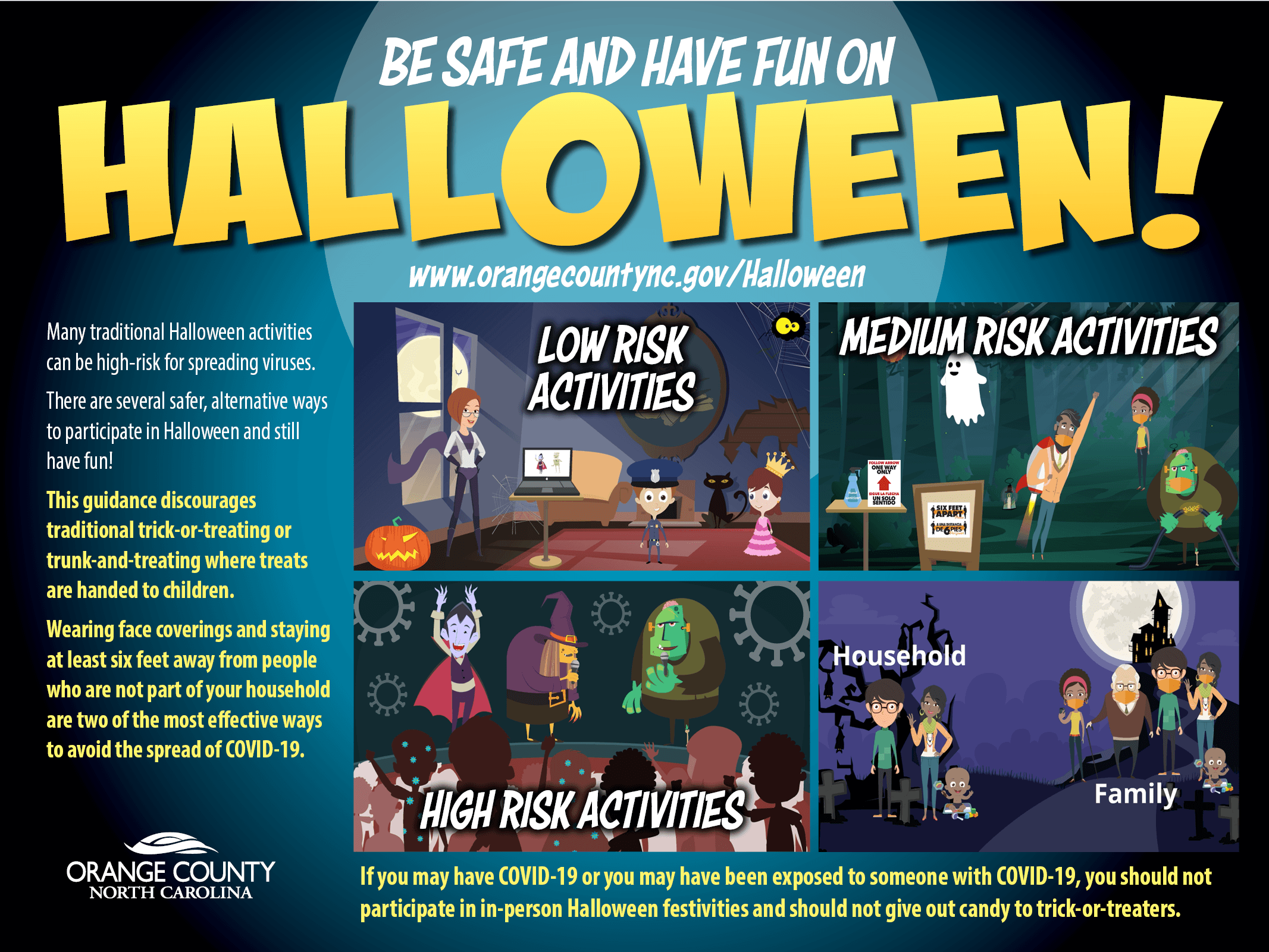 Be safe and enjoy halloween