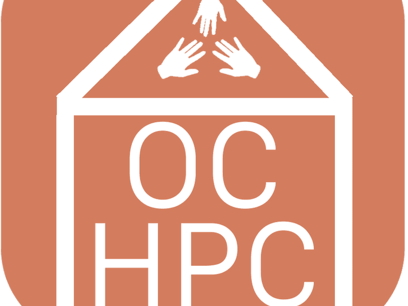 OCHPC logo - house with hands
