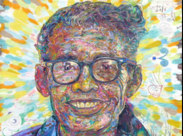 Pauli Murray mural graphic
