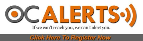 OC Alerts Registration