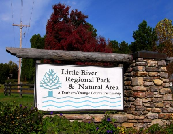 Little River Regional Park Natural Area Sign