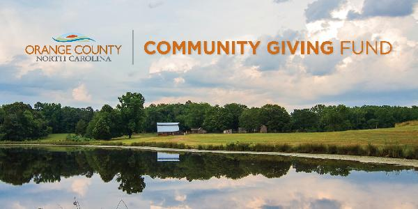 Orange County Giving Fund Banner