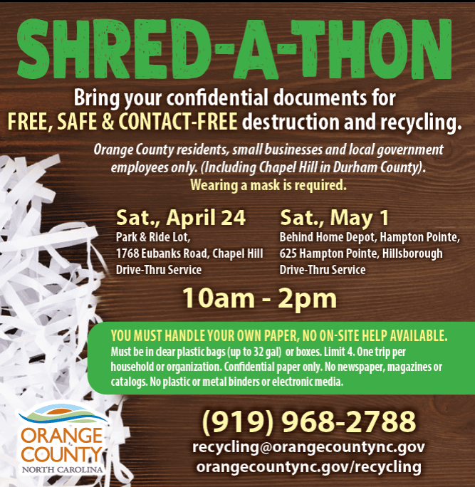 Shred-A-Thon Apr May 2021
