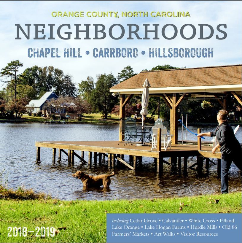OC neighborhood Guide cover