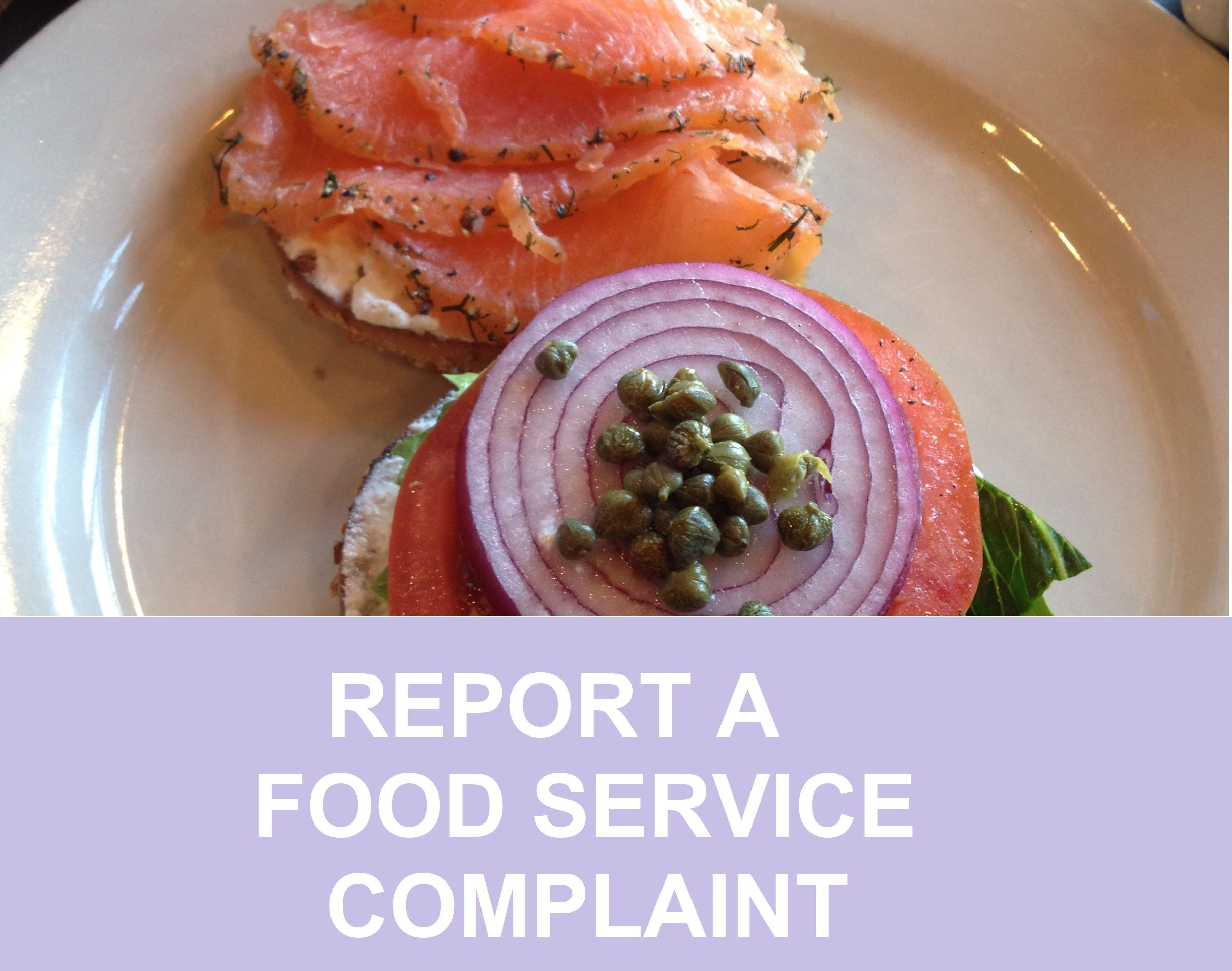 REPORT A COMPLAINT Opens in new window