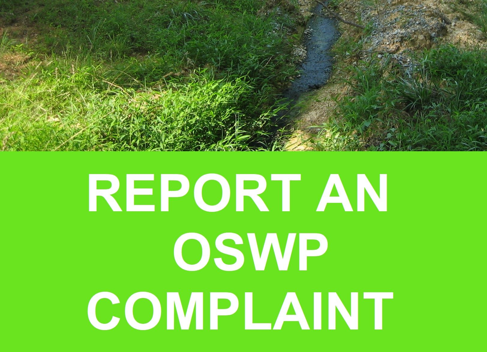 REPORT OSWP COMPLAINT Opens in new window