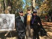 Photo of people at Veterans Memorial