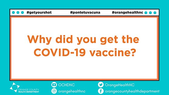 Why did you get the COVID-19 vaccine?
