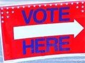 Vote Here graphic