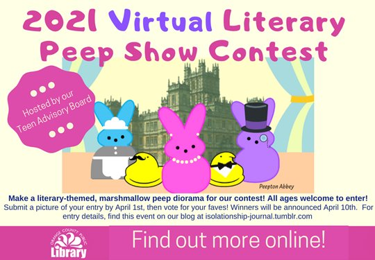 Library Peep Show graphic