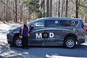 Photo of MOD vehicle