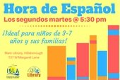 spanish hour at the library