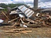 Photo of storm debris