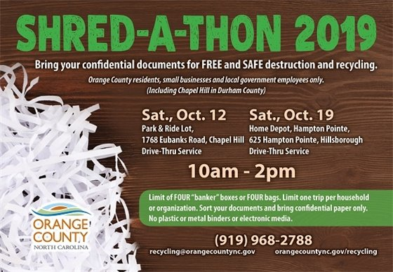 Shred-A-thon Graphic