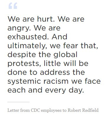 Letter from CDC Employees