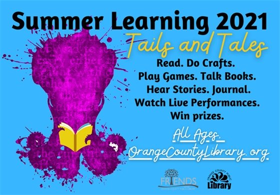 Library Summer Learning graphic