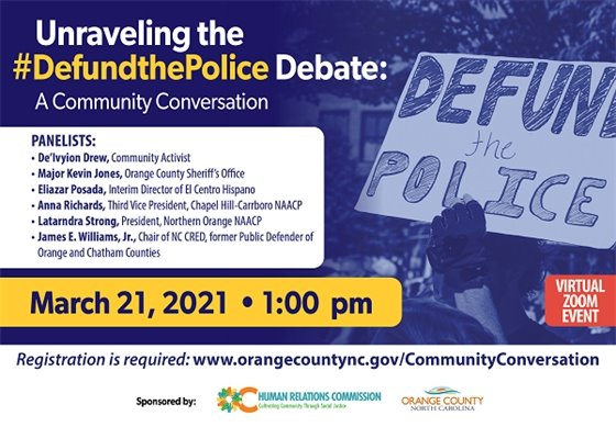 Defund the Police graphic