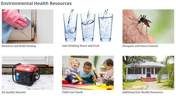 environmental health resources
