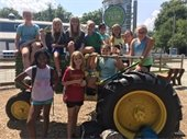 Preteen Adventure Campers on Field Trip