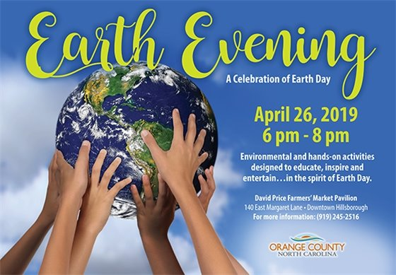 Earth Evening graphic
