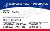 New Medicare card (sample)