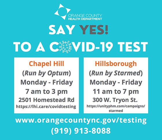 say yes to a covid-19 test