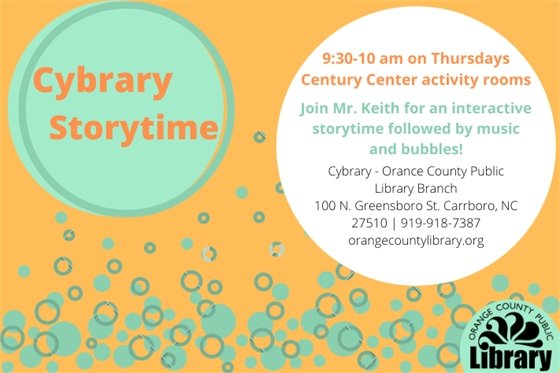 Graphic for Cybrary Storytime