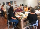 Photo of Carlos leading workshop