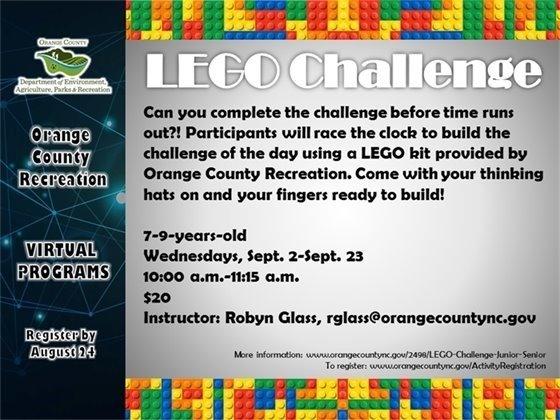 Lego Challenge graphic