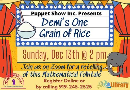 Demi's One Grain of Rice graphic