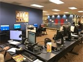 image of computer area at the Main Library in Hillsborough -- new arrangement