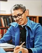 Photo of Dr. Pauli Murray