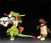 Puppet show photograph