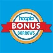 hoopla bonus borrows now through May 31