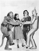 Photo of the cast of The Wizard of Oz
