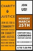 charity and justice workshop