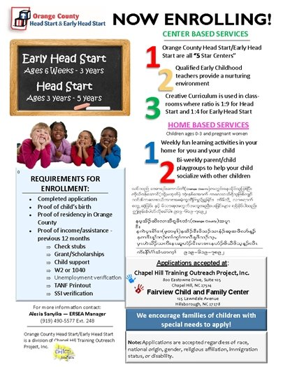 Orange County Head Start