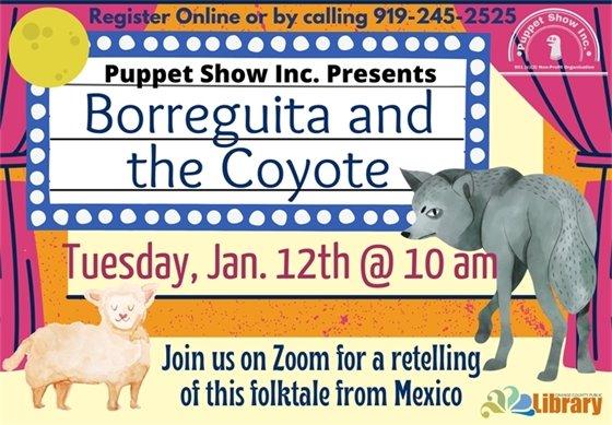 Borreguita and the Coyote graphic