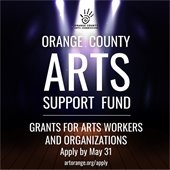 Orange County Arts Fund graphic
