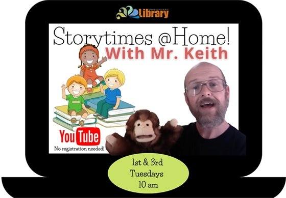 Storytimes @Home are back!