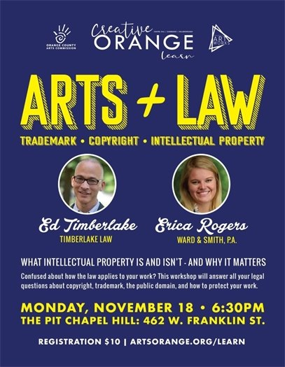 Graphic for Arts & Law program