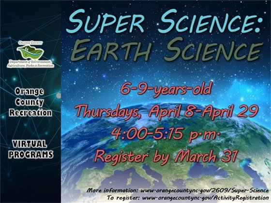 Super Science: Earth Science - ages 6- to 9-years-old