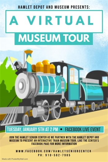 Hamlet Depot and Museum Presents: A Virtual Museum Tour