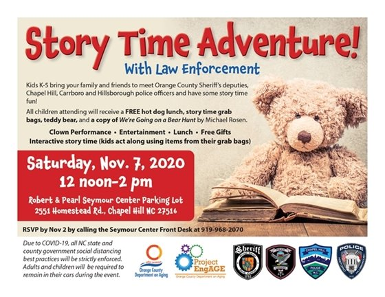 Story Time Adventure with Law Enforcement