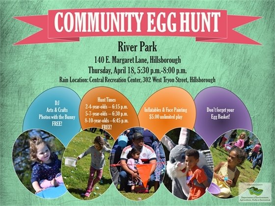 Community Egg Hunt graphic