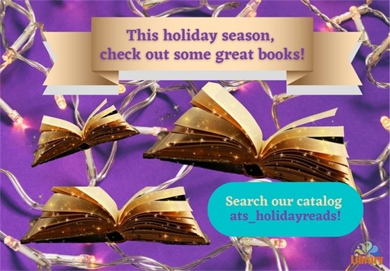holiday reads at the Orange County Public libary